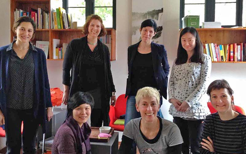 Passionate and professional the team of Shanghai Flaneur